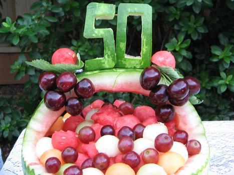 fruit carving decoration